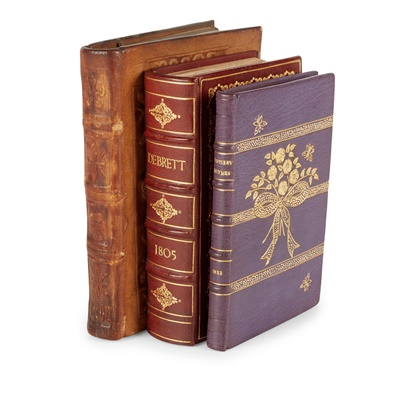 Lot 350 - Three Fine Bindings