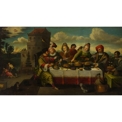 Lot 61 - CINNABAR LACQUER SQUARE-SECTIONED VASE