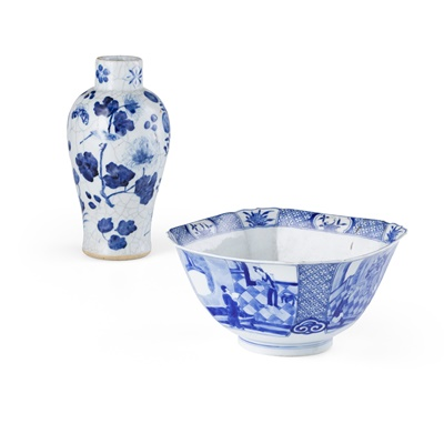 Lot 150 - TWO BLUE AND WHITE WARES