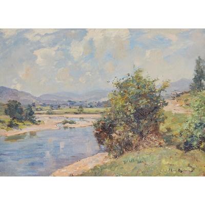 Lot 166 - JOSEPH MORRIS HENDERSON R.S.A (SCOTTISH 1864-1936)