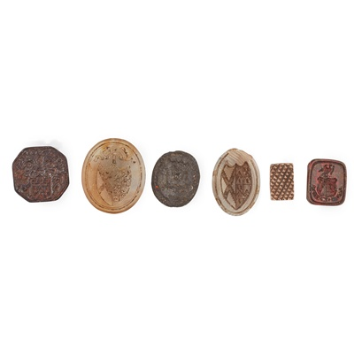 Lot 106 - A group of 18th and 19th century seals