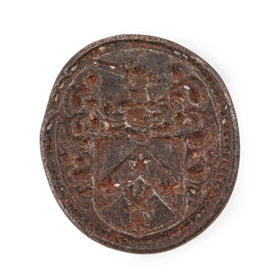 Lot 107 - A group of three 18th/19th century steel fob seals for the Kerr of Yair family