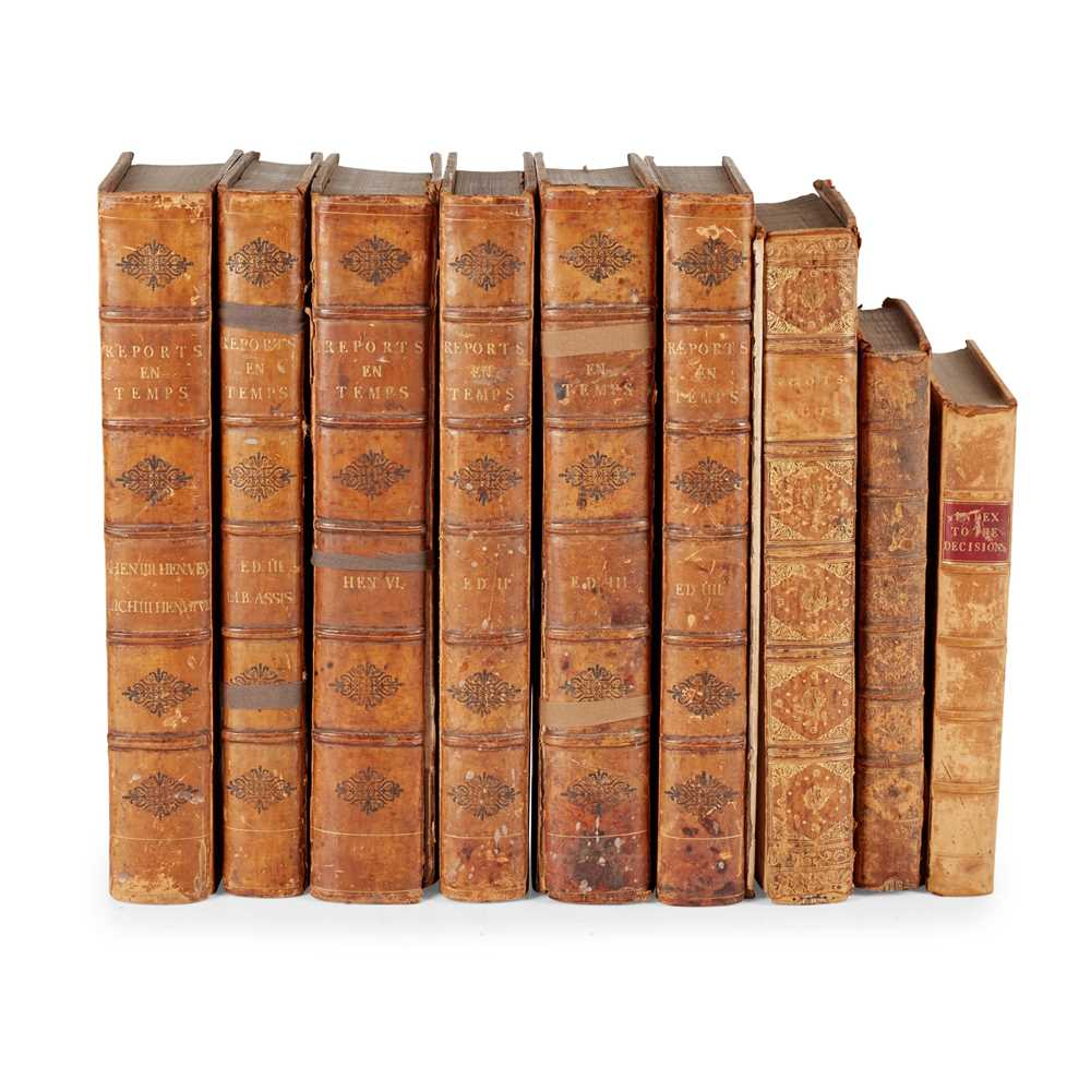 Lot 97 - Law Reports and Legal Works, a collection, including