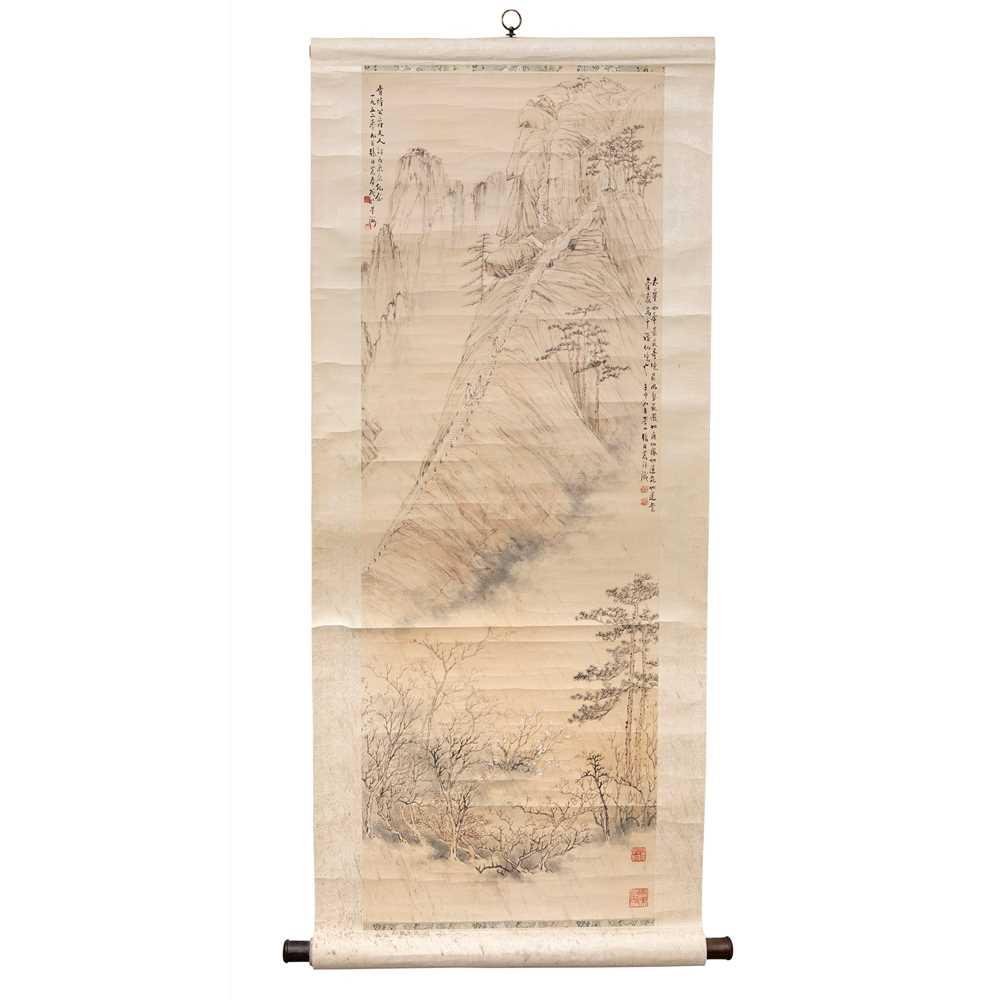 Lot 157 - ZHANG DANNONG (CHINESE b.1903-d.1975)