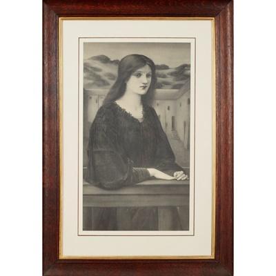 Lot 206 - FREDERICK HOLLYER (1838-1933) AFTER SIR EDWARD COLEY BURNE-JONES