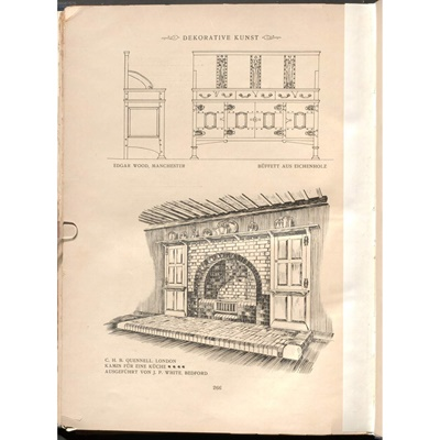 Lot 138 - EDGAR WOOD (1860-1935)