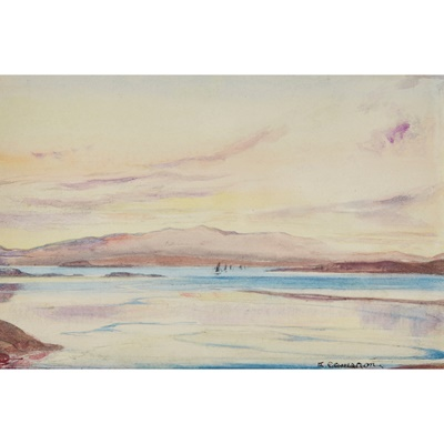 Lot 7 - KATHARINE CAMERON R.S.W., R.E. (SCOTTISH 1874-1965)