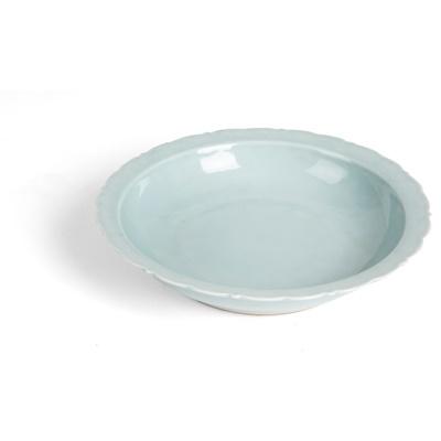 Lot 186 - RU-TYPE GLAZED BARBED-RIM PLATE