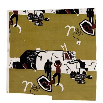 Lot 191 - Keith Vaughan (British 1912-1977) for Edinburgh Weavers