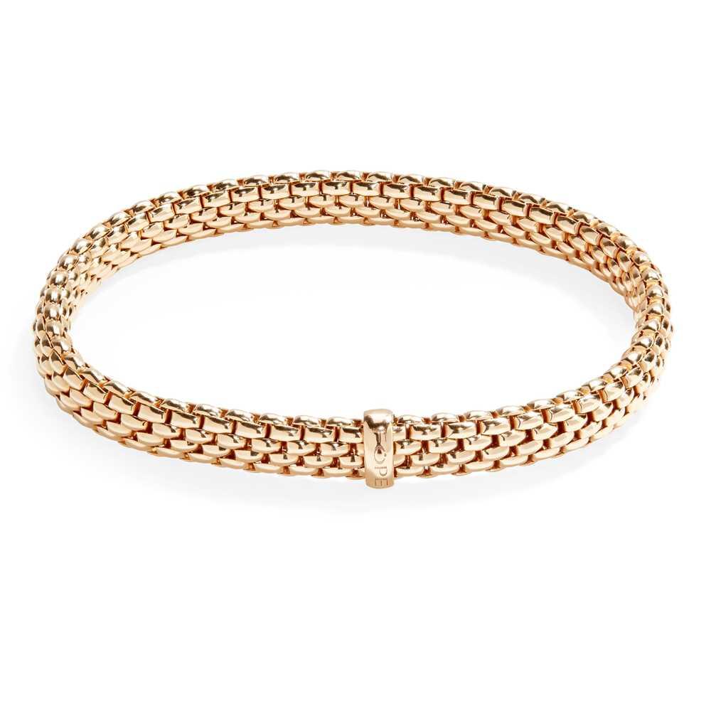 Lot 75 - An 18ct gold bracelet, Fope