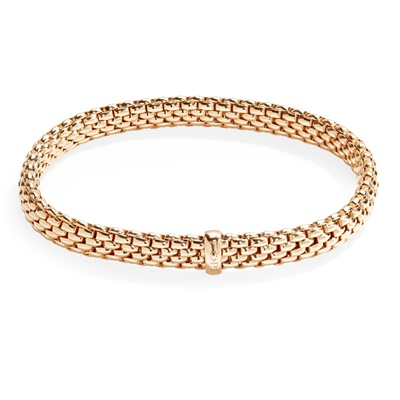 Lot 75 - An 18ct gold bracelet, Fope