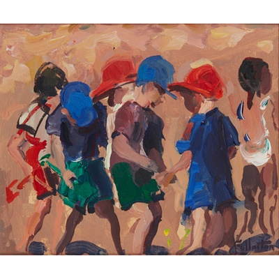 Lot 71 - JAMES  FULLARTON (SCOTTISH  1946-)