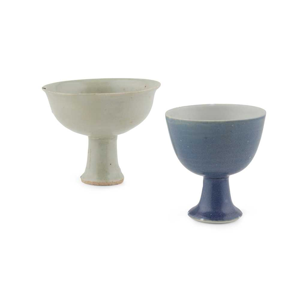 Lot 81 - TWO STEM CUPS
