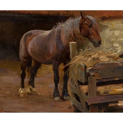 Lot 161 - WILLIAM FRANK CALDERON (BRITISH 1865-1943)