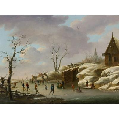 Lot 171 - HERMANUS DONSELAER (BELGIAN 1761-1829)