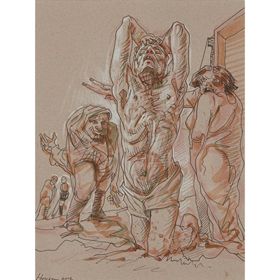 Lot 17 - PETER  HOWSON O.B.E. (SCOTTISH 1958-)