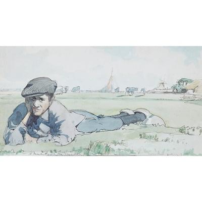 Lot 35 - JAMES MCBEY (SCOTTISH 1883-1959)