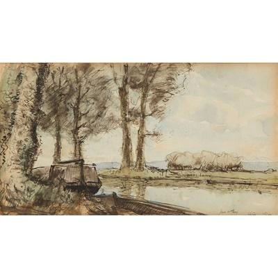 Lot 98 - JAMES MCBEY (SCOTTISH 1883-1959)