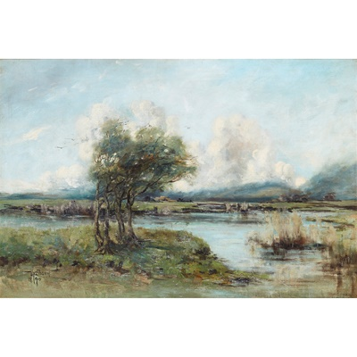 Lot 45A - WILLIAM ALFRED GIBSON (SCOTTISH 1866-1931)