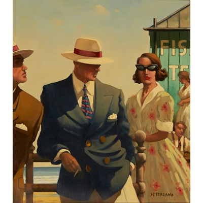 Lot 80 - JACK VETTRIANO  (SCOTTISH  1951-)