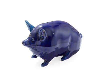 Lot 77 - A SMALL WEMYSS WARE PIG