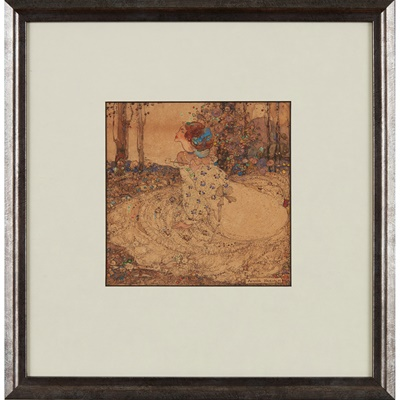 Lot 382 - ANNIE FRENCH (1872-1965)