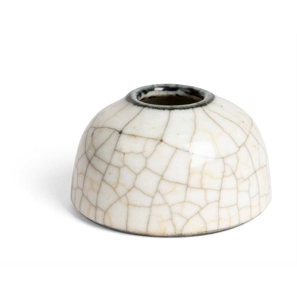 Lot 8 - GE-TYPE CRACKLE-GLAZED WATER POT