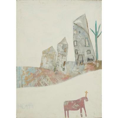 Lot 97 - PATRICIA DOUTHWAITE (SCOTTISH 1939-2002)