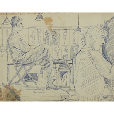 Lot 37 - ALASDAIR GRAY (SCOTTISH 1934-2019)