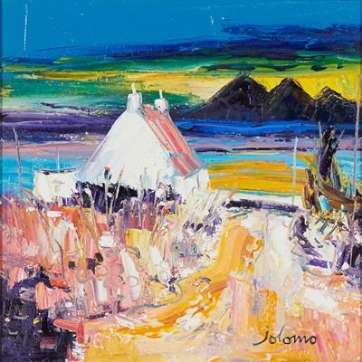 Lot 73 - JOHN  LOWRIE MORRISON (JOLOMO) O.B.E. (SCOTTISH 1948-)