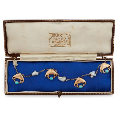 Lot 321 - ARCHIBALD KNOX (1864-1933) FOR LIBERTY & CO., LONDON