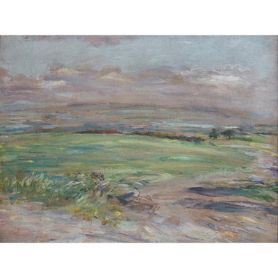 Lot 421 - WILLIAM MCTAGGART R.S.A., R.S.W (SCOTTISH 1835-1910)