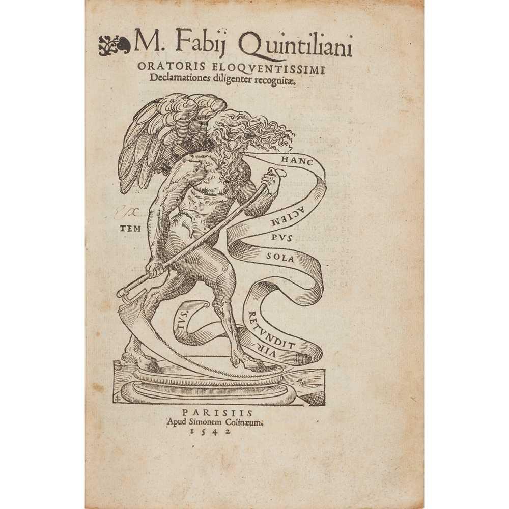 Lot 44 - Quintilianus, Marcus Fabius