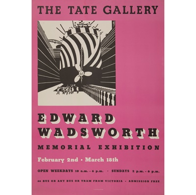 Lot 56 - After Edward Wadsworth (1889-1949)