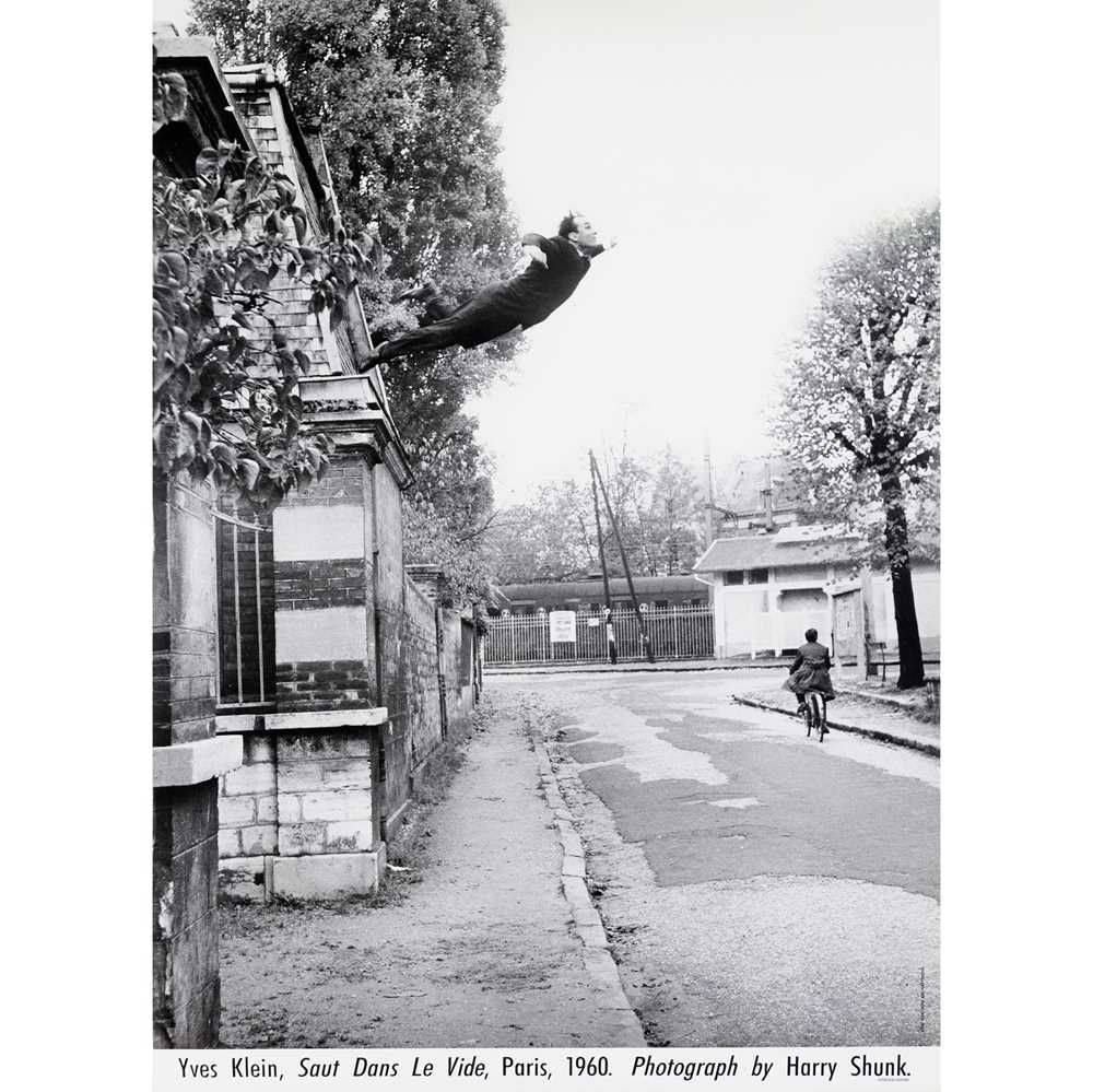 Lot 57 - After Yves Klein and Harry Shunk