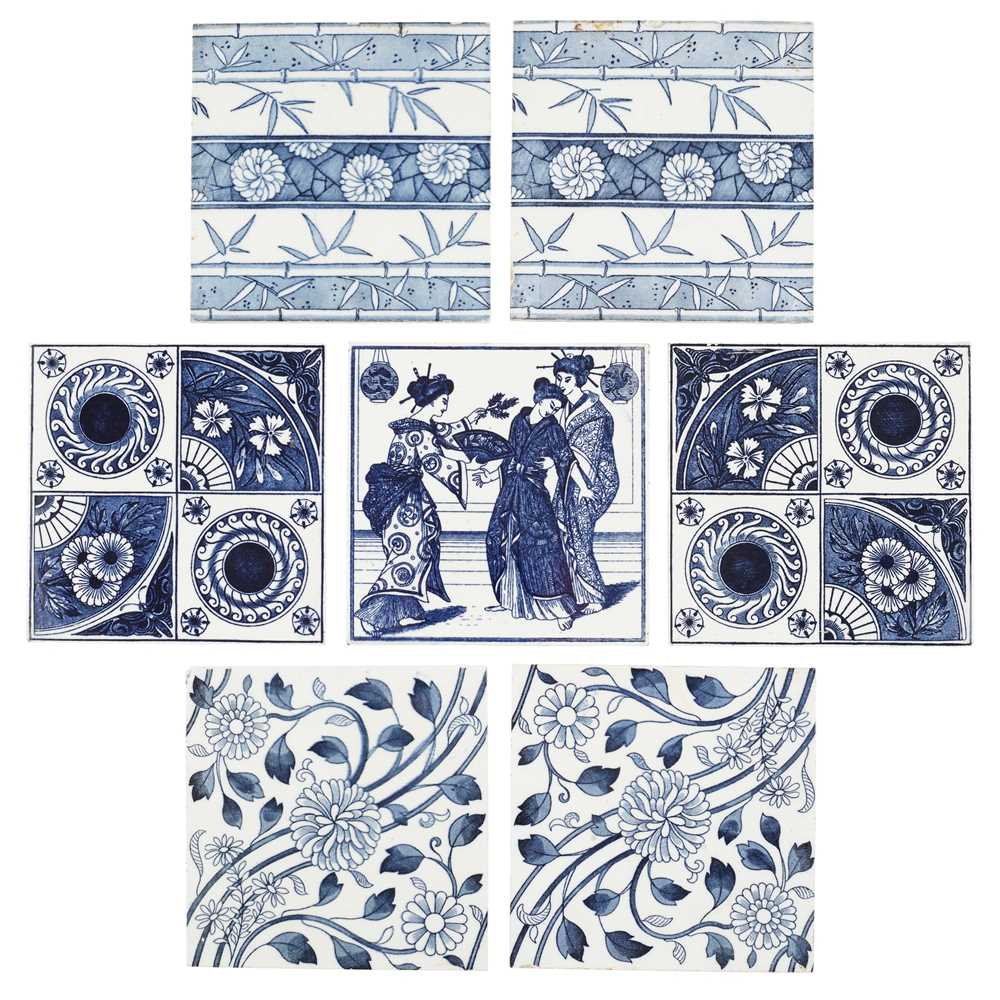 Lot 86 - MINTON'S CHINA WORKS AND MAW & CO.