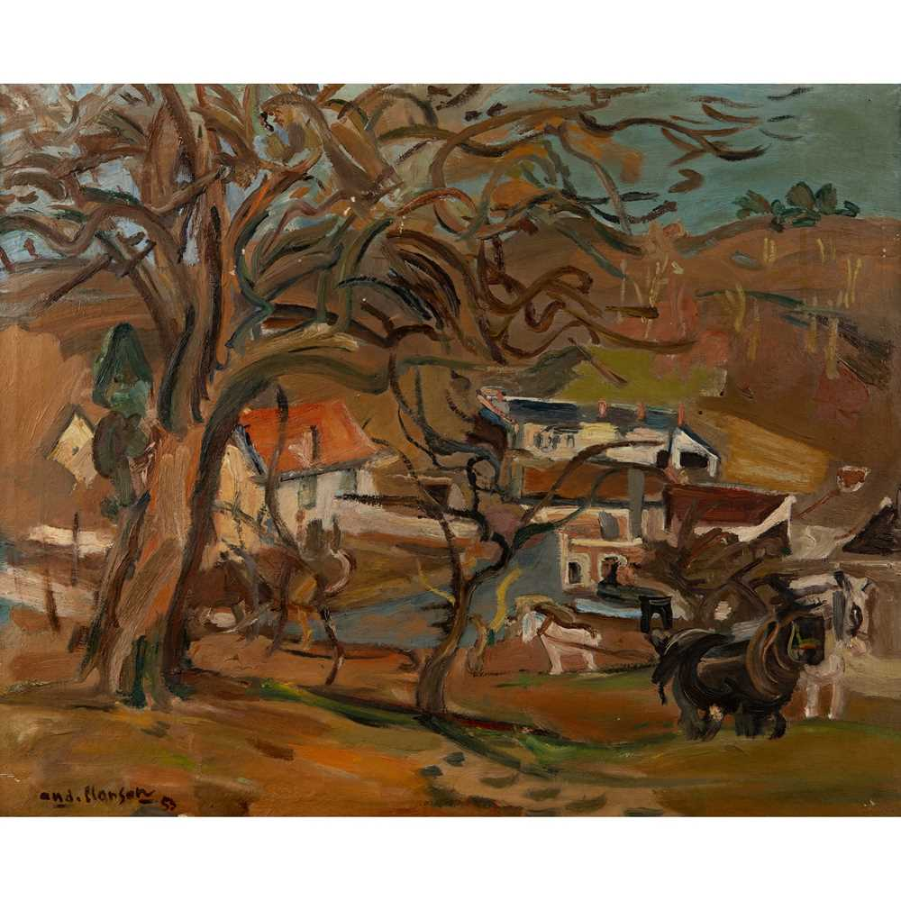 Lot 81 - André  Planson (French 1898-1981)