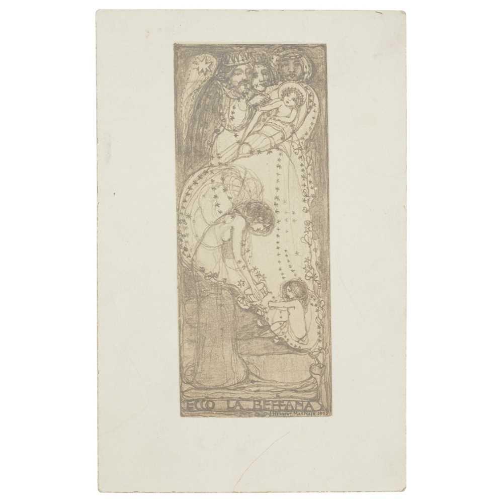 Lot 395 - JAMES HERBERT MACNAIR (1868-1955)