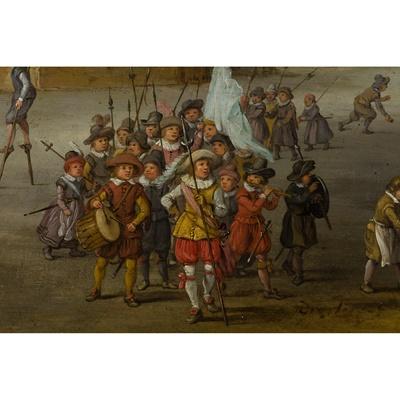 Lot 35 - CORNELIS  DROOCHSLOOT  (DUTCH b.1640-d.1673)
