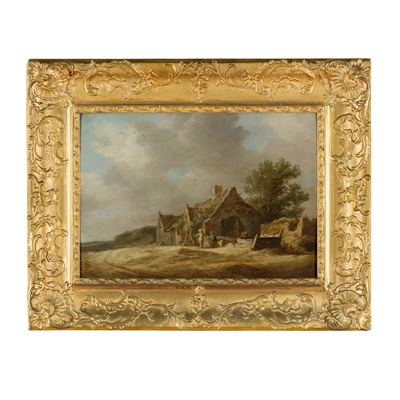 Lot 38 - JAN JOSEFSZ  VAN GOYEN  (DUTCH 1596-1656)