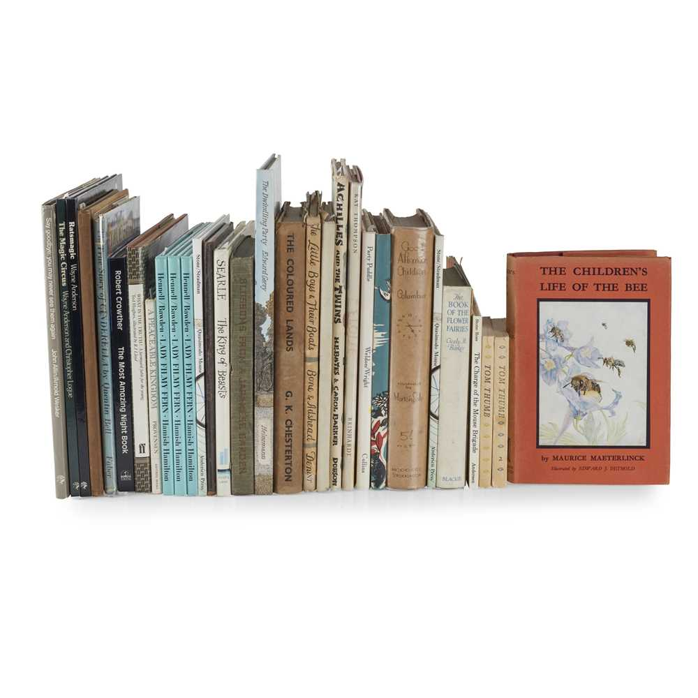 Lot 37 - 20th Century Children's Books
