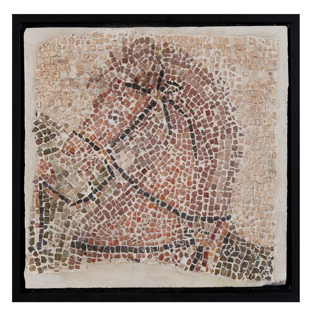 Lot 85 - ROMAN MOSAIC OF A HORSE