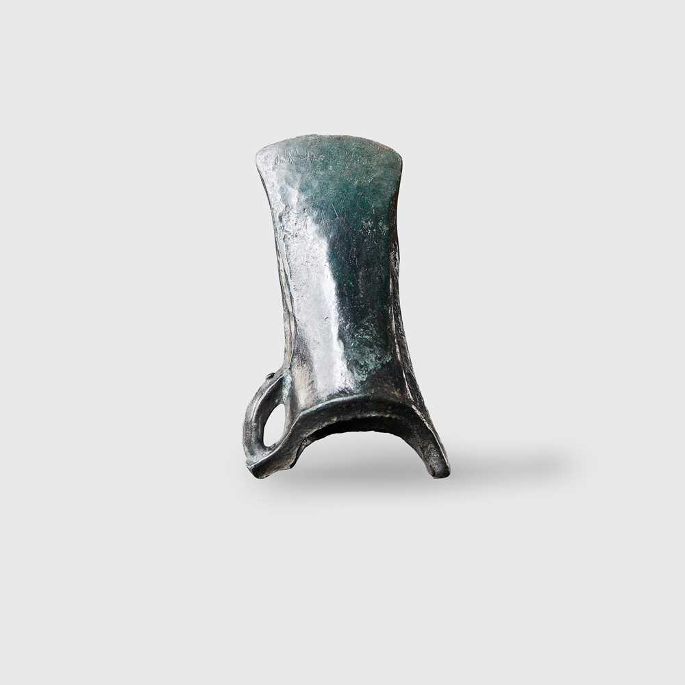 Lot 94 - LATE BRONZE AGE SOCKETED AXE HEAD