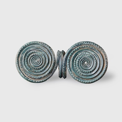 Lot 99 - BRONZE AGE SPIRAL RING