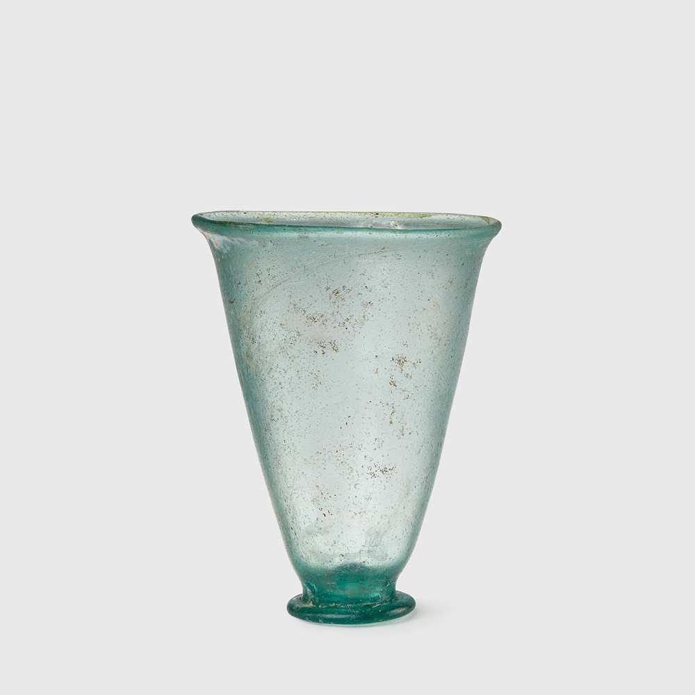 Lot 74 - ROMAN GLASS WINE GOBLET