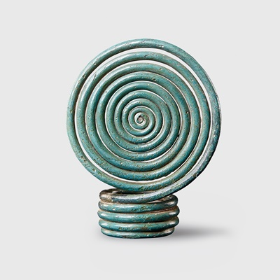 Lot 98 - BRONZE AGE SPIRAL RING