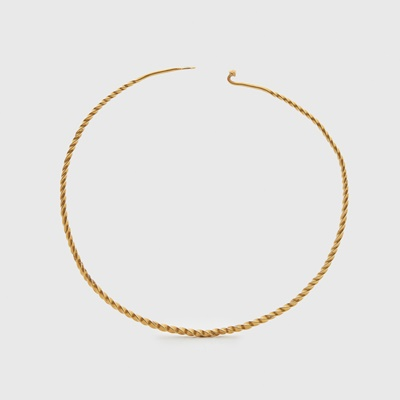Lot 112 - SUPERB ANCIENT CELTIC GOLD TORC