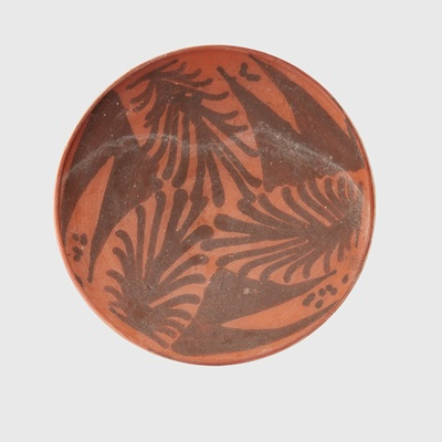 Lot 67 - NABATEAN RED TERRACOTTA BOWL