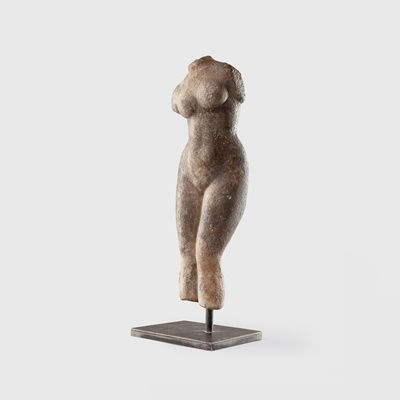 Lot 81 - ROMAN MARBLE TORSO OF VENUS