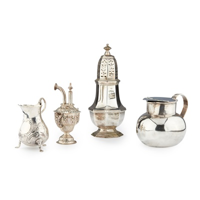 Lot 230 - A COLLECTION OF SILVER